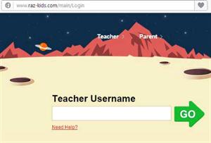 Raz Kids Login Teacher Name