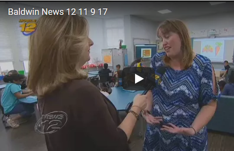 News 12 Visits Newly Redesigned Classroom