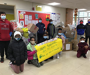Baldwin Schools Donate to Various Charities and Families for the Holiday Season