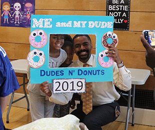 Baldwin Herald Covers Premiere of Plaza's Dudes N' Donuts Event