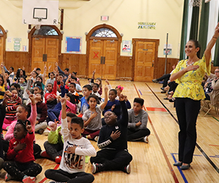 "Steele Students Learn about the ""Power of One"" for National Bullying Prevention Awareness Month"