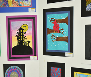 Students' Artwork Selected for ASA's All-County Art Exhibit