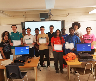 AP Calculus Students Place 1st in New York State in Continental Mathematics League Competition