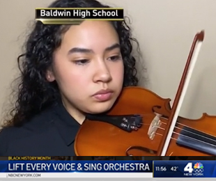 Performance by Baldwin High School Orchestra Students Featured on NBC New York