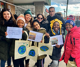Brookside Fifth Graders Help Make the World a Cleaner Place