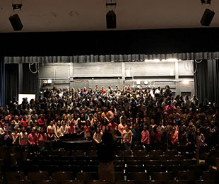 Baldwin UFSD Welcomes Shoshana Hershkowitz as Guest Conductor for Annual Choral Festival