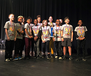 Meadow Elementary School Takes Home Top Prizes in Future Problem Solver State Bowl