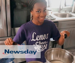 Lenox Student, Tori Brown, Featured in Newsday for Charitable Act
