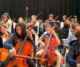 Baldwin School District Electrifies Its Strings for Spring Festival