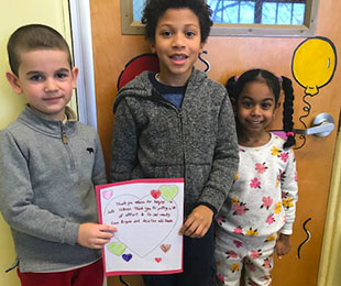 Baldwin Elementary School Students Send More Than 1500 Valentines to Veterans