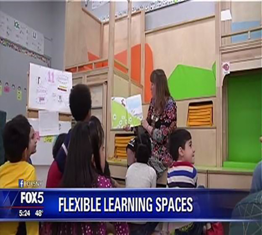 Fox 5 Visits Baldwin's Flexible Learning Spaces