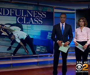CBS 2 NY Spotlights Baldwin High School Mindfulness Classes
