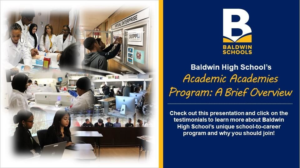 Academic Academies Presentation and Testimonials