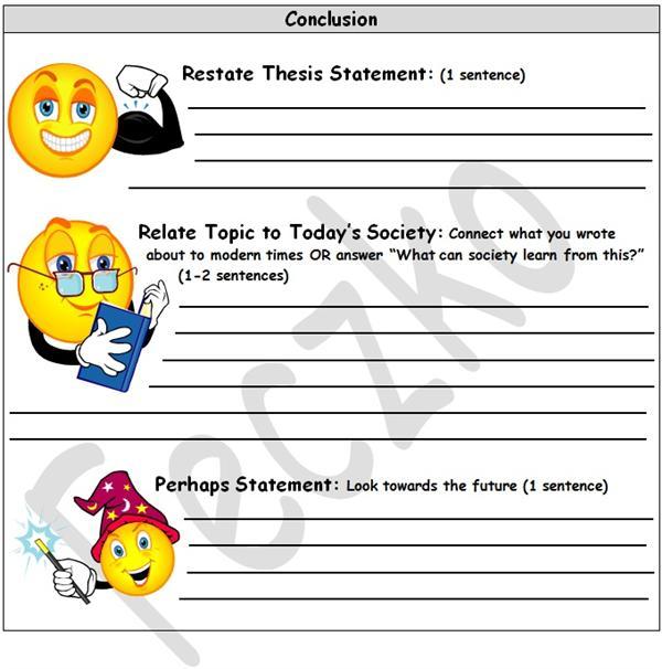 Dbq essay graphic organizer
